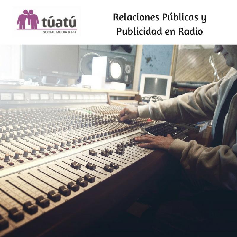 Relaciones Públicas y Publicidad en Radio