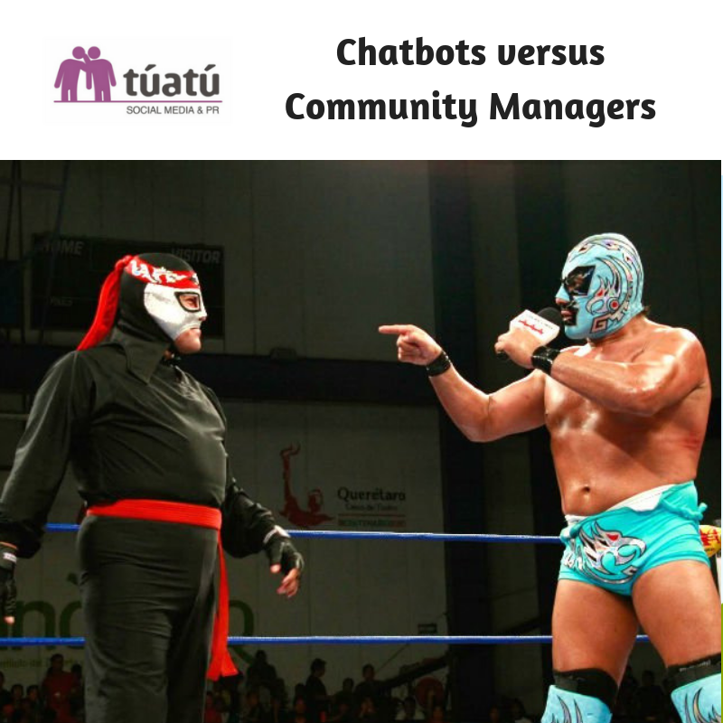 Chatbots versus Community Managers