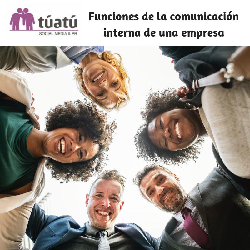 Funciones de la comunicación interna de una empresa