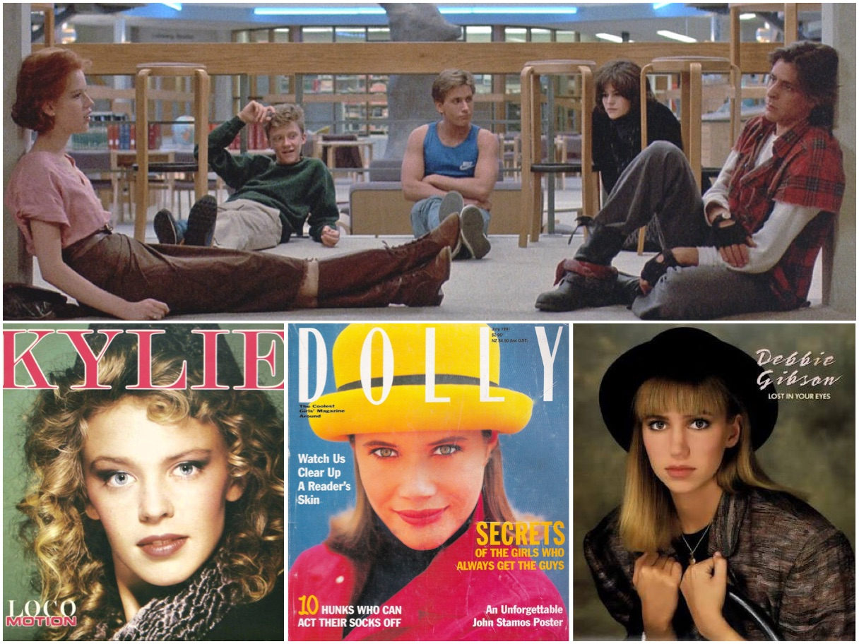 Breakfast Club + Kylie Minogue + Dolly Magazine + Debbie Gibson