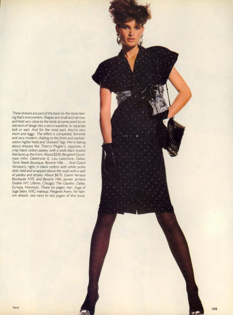Vogue (US) April 1985 | There's Nothing Like A Dress 02.jpg