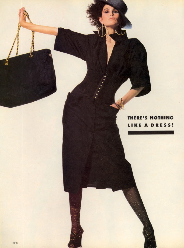 Vogue (US) April 1985 | There's Nothing Like A Dress 03.jpg