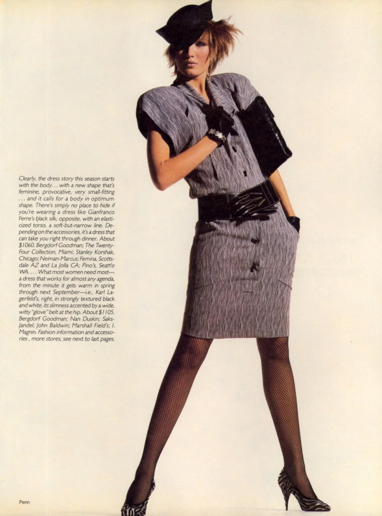 Vogue (US) April 1985 | There's Nothing Like A Dress 04.jpg
