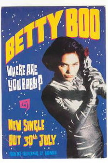 Betty Boo - Where Are You Baby? Poster | Catsuit.jpg