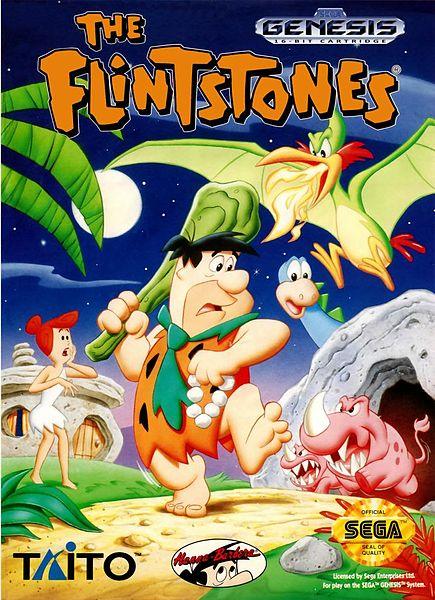 Sega Genysis | The Flintstones