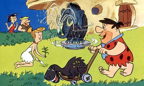 Flintstones | Fred Mowing.jpg