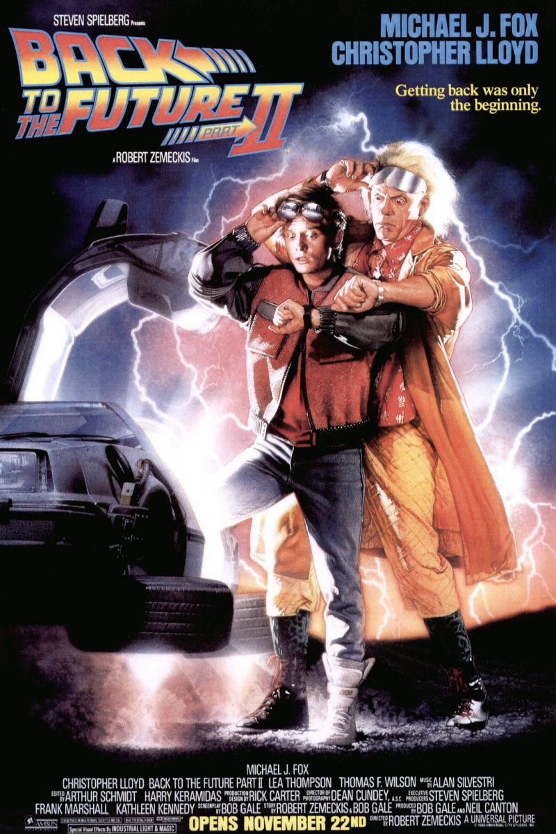 Back To The Future 2 | Movie Poster