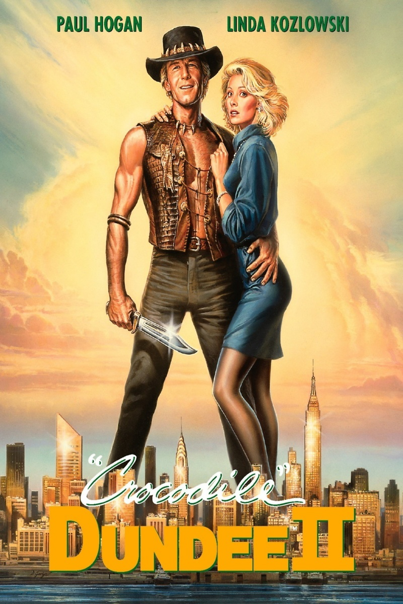 Crocodile Dundee 2 (1988) | Movie Poster