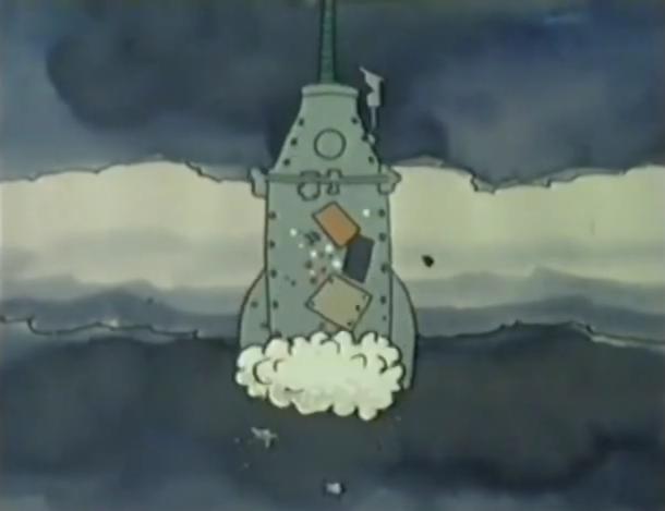 Mr Squiggle | Rocket (animated)