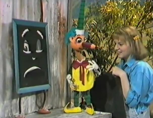 Blackboard, Mr Squiggle & Roxanne