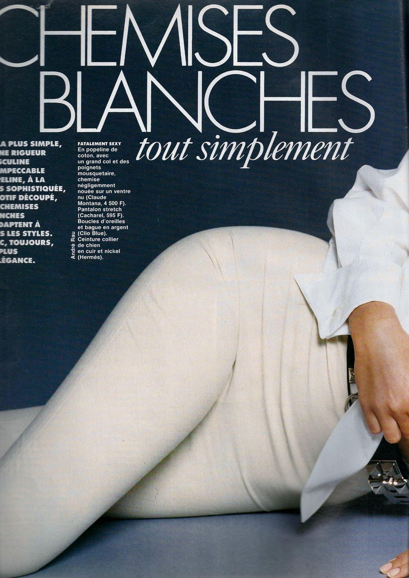 Elle (France) February 1992 | Daniela Pestova 01.jpg