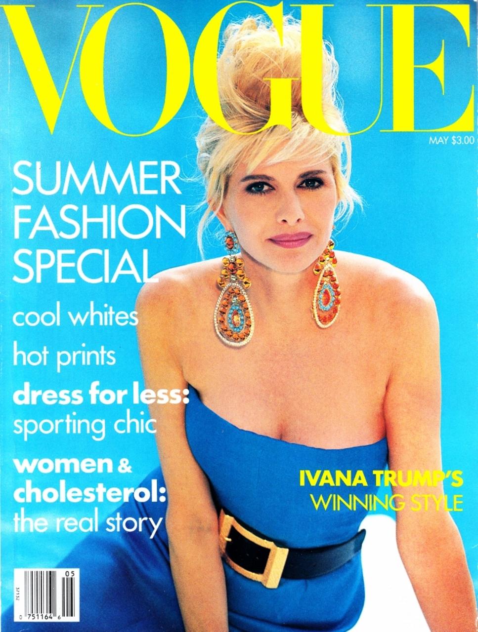 Vogue (US) May 1990 | Ivana Trump