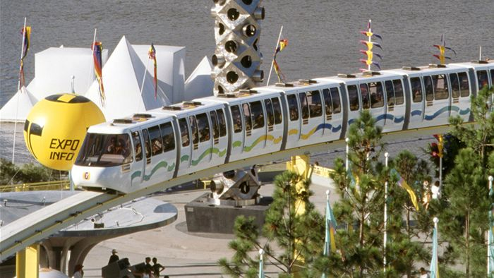 World Expo 88   Monorail