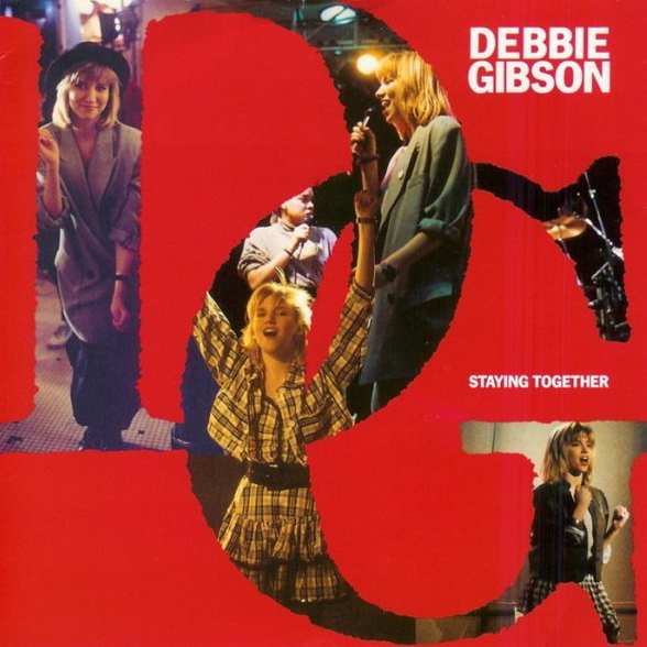 Debbie Gibson | Staying Together | Single Cover Front.jpg