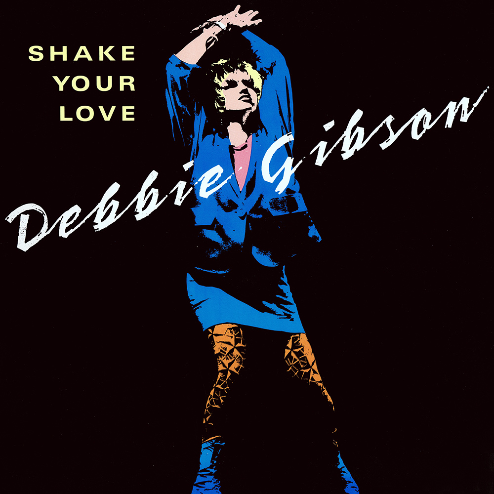 Debbie Gibson | Shake Your Love | Single Front Cover.jpg