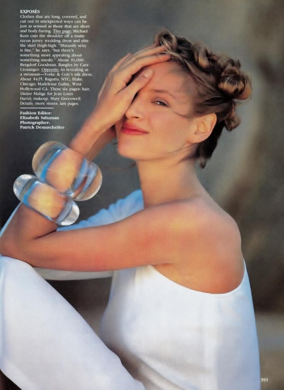 Vogue (US) April 1989 | Uma Thurman 02.jpg