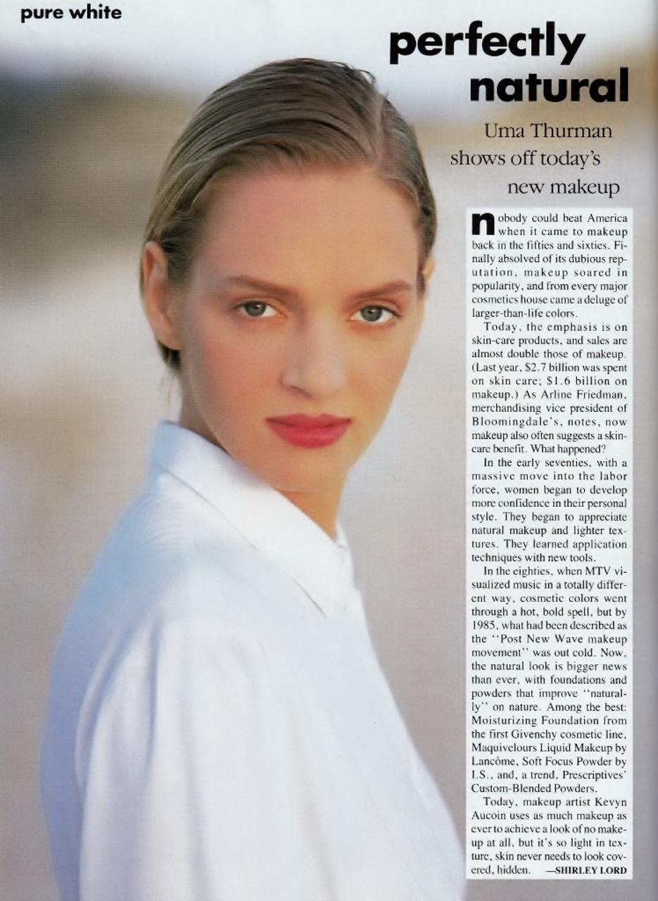 Vogue (US) April 1989 | Uma Thurman 03.jpg