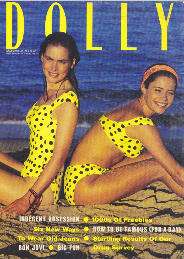 Dolly Magazine (Australia) November 1989