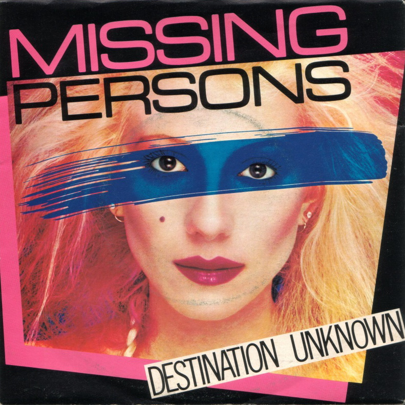 Portfolio Soundtrack | Missing Persons 'Destination Unknown'