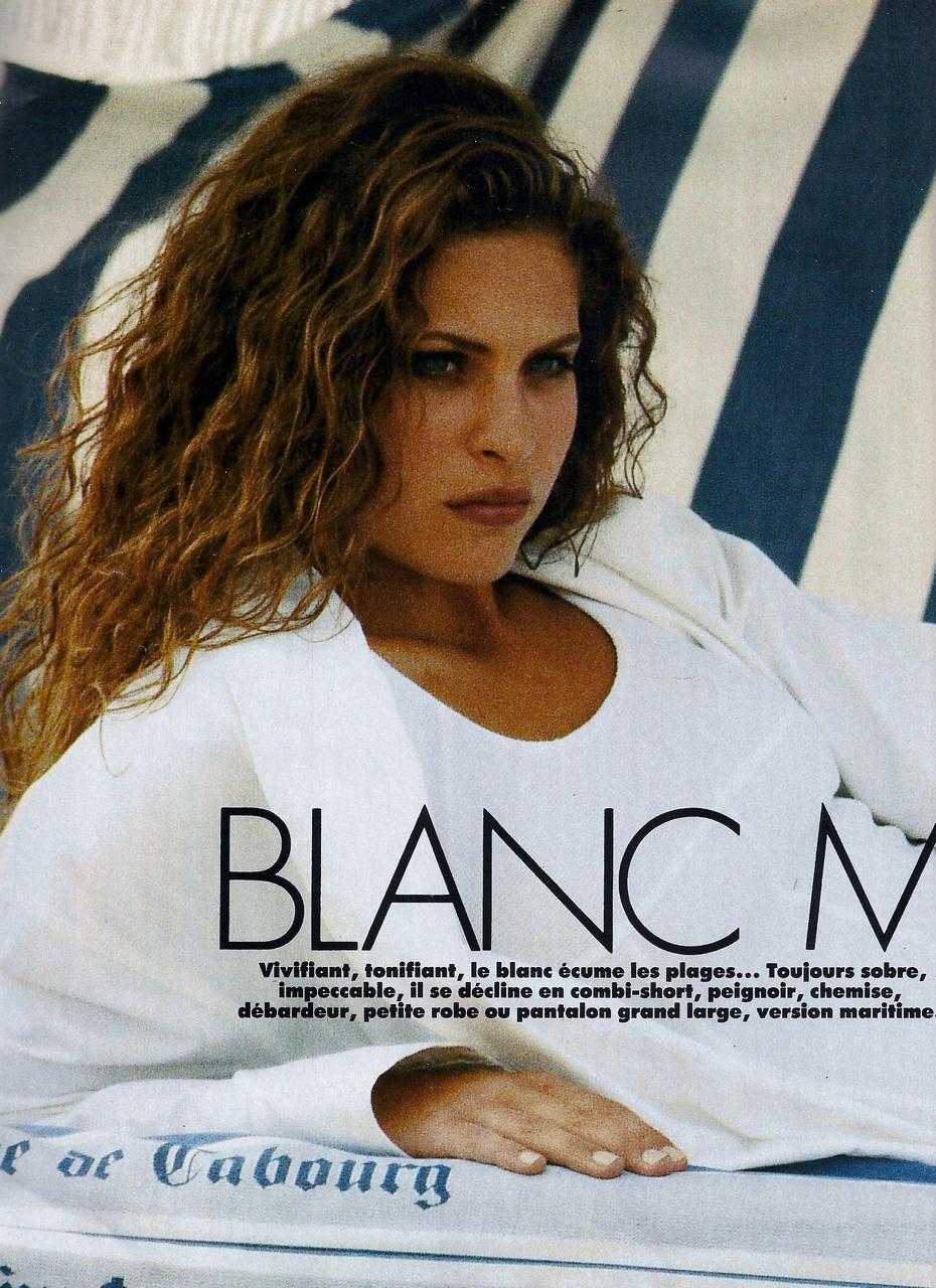 Elle (France) July 1992 | Frankie Rayder 01.jpg