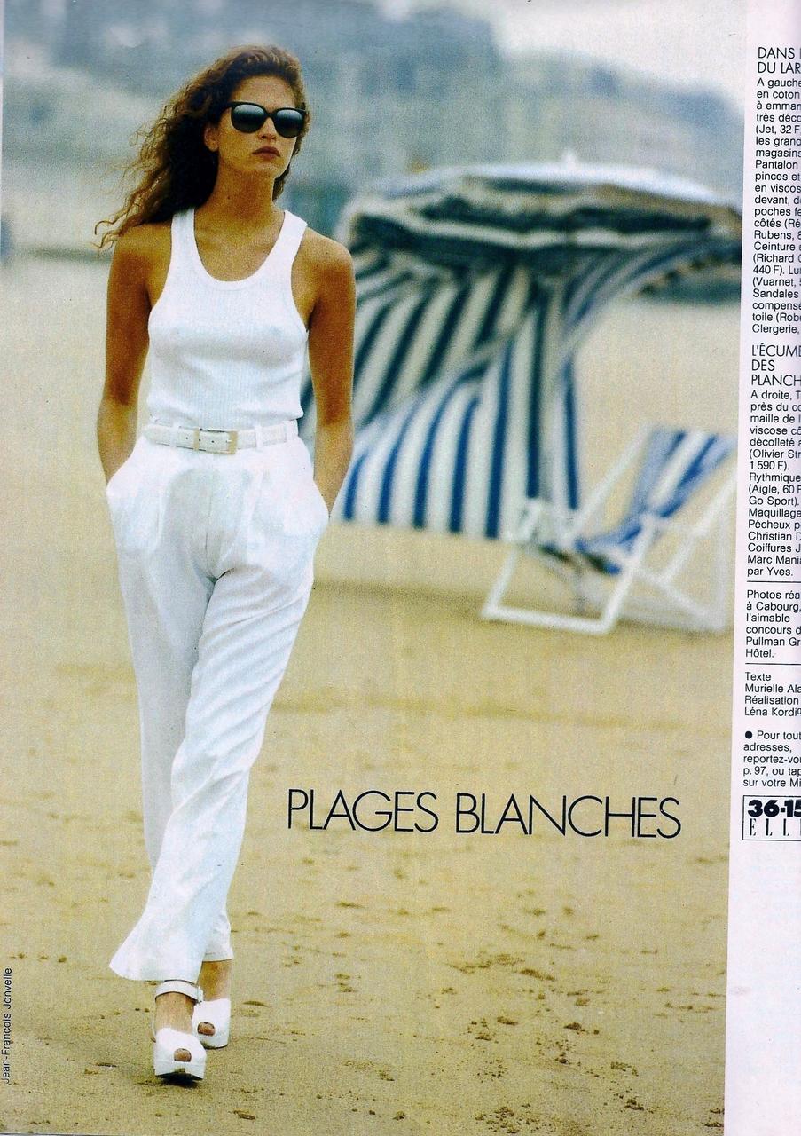Elle (France) July 1992 | Frankie Rayder 05.jpg