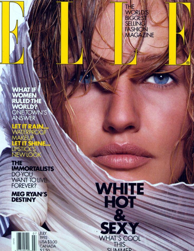 Elle (US) July 1993 | Karen Mulder