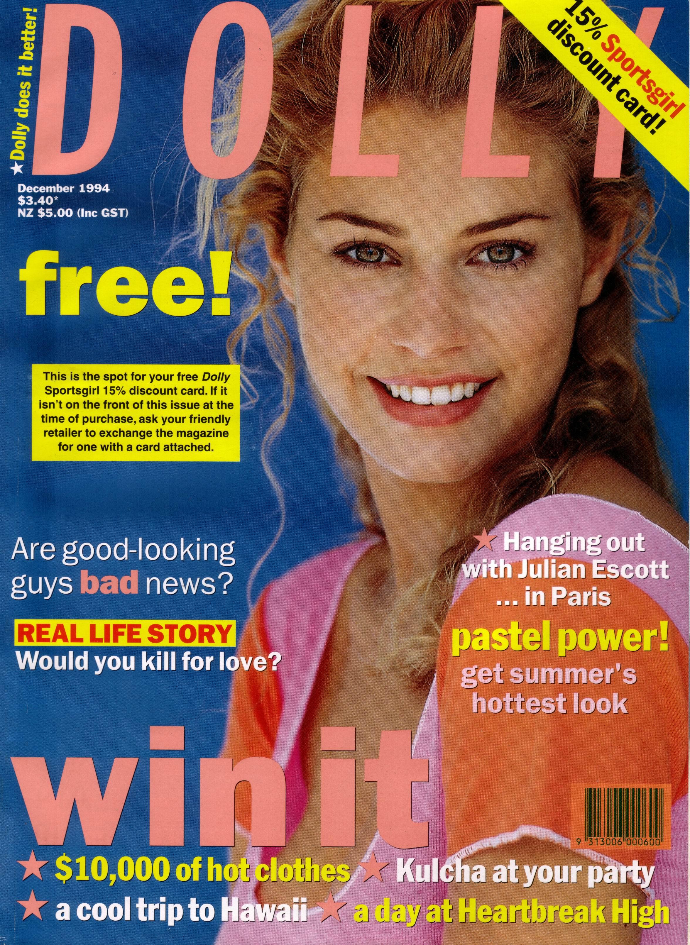 Dolly Magazine (Australia) December 1994