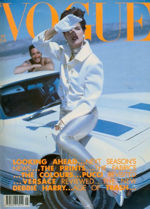 Vogue (UK) July 1990 | Stephanie Seymour