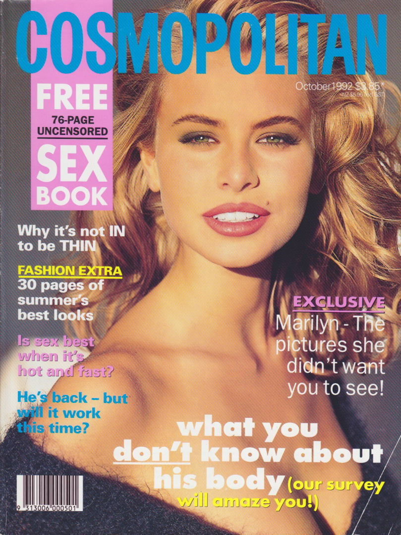 Cosmopolitan (Australia) October 1992 | Niki Taylor