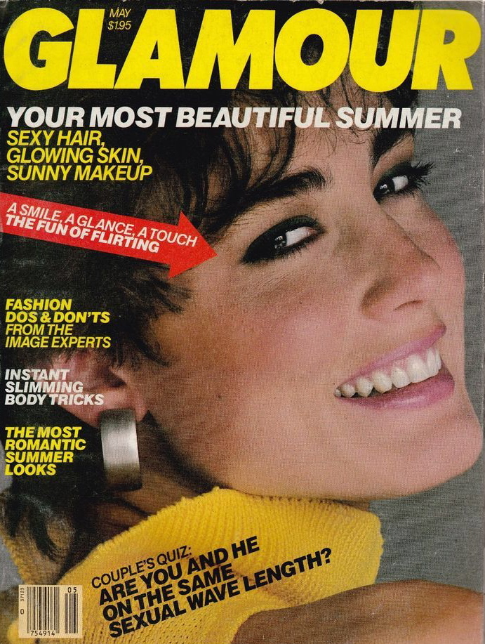 Glamour (US) May 1984 | Julie Wolfe.jpg