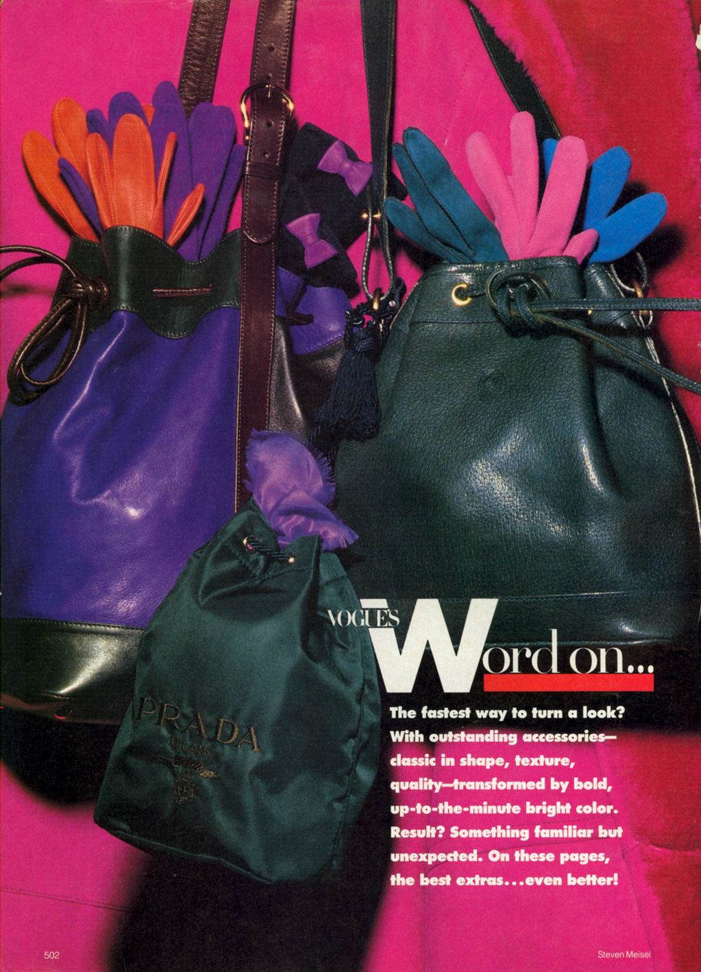 Vogue (US) October 1988 | Hit Of Colour 02.jpg