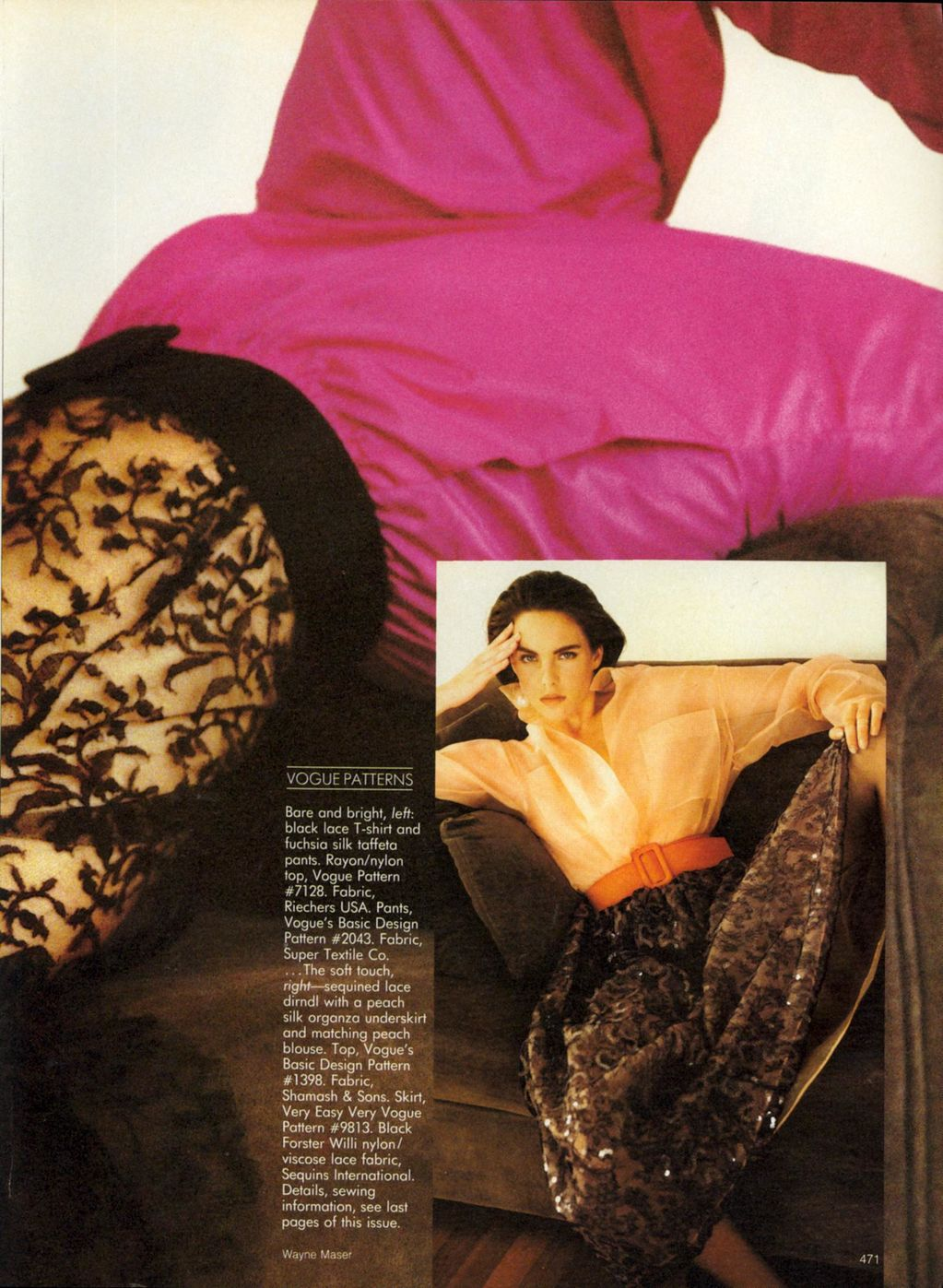 Vogue (US) October 1988 | What's For Dinner 02.jpg