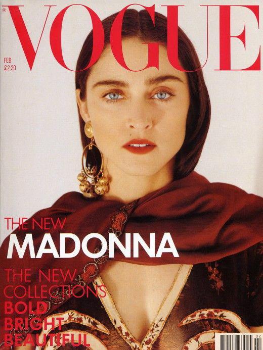 Vogue (UK) February 1989 | Madonna