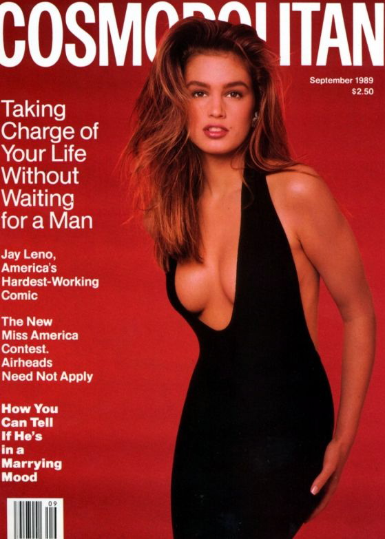 Cosmopolitan September 1989 | Cindy Crawford.jpg