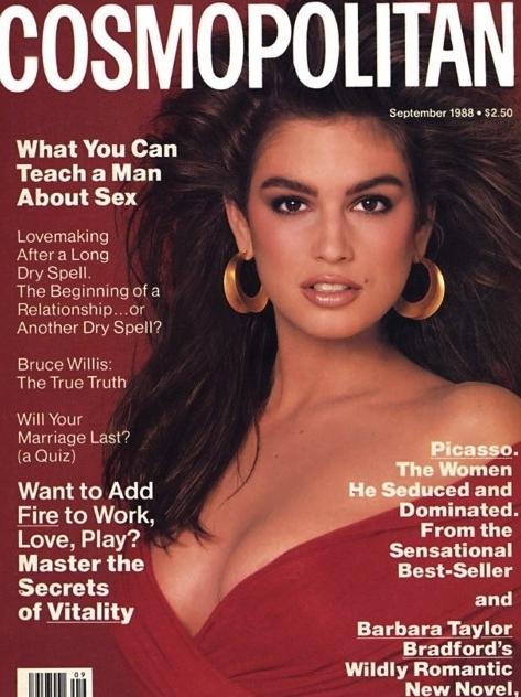 Cosmopolitan (US) September 1988 | Cindy Crawford.jpg