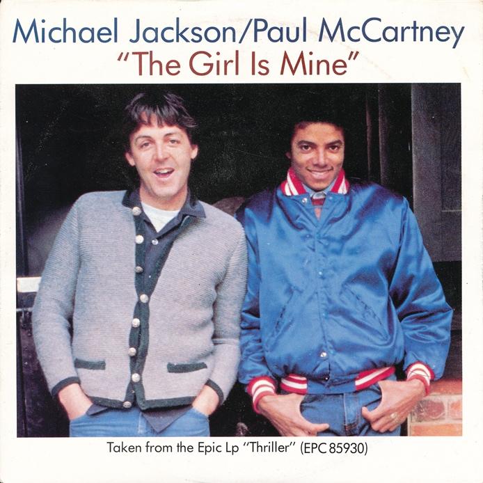 Michael Jackson & Paul McCartney   The Girl Is Mine