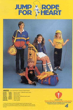Jump Rope For Heart | 80s Ad