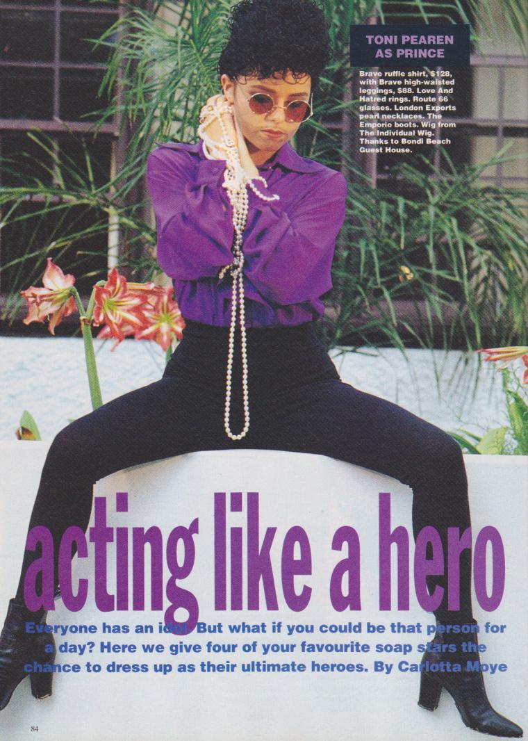 Dolly Magazine (Australia) June 1992 | Copycats 01.jpeg