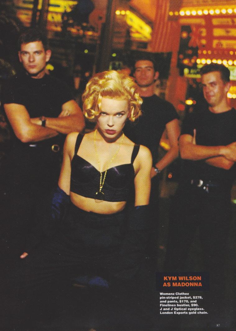 Dolly Magazine (Australia) June 1992 | Copycats 04.jpeg