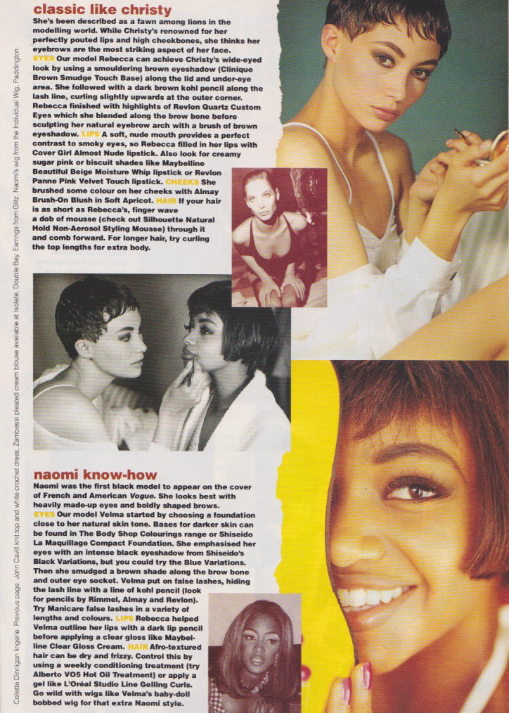 Dolly Magazine (Australia) September 1991 | Like A Model 03.jpeg