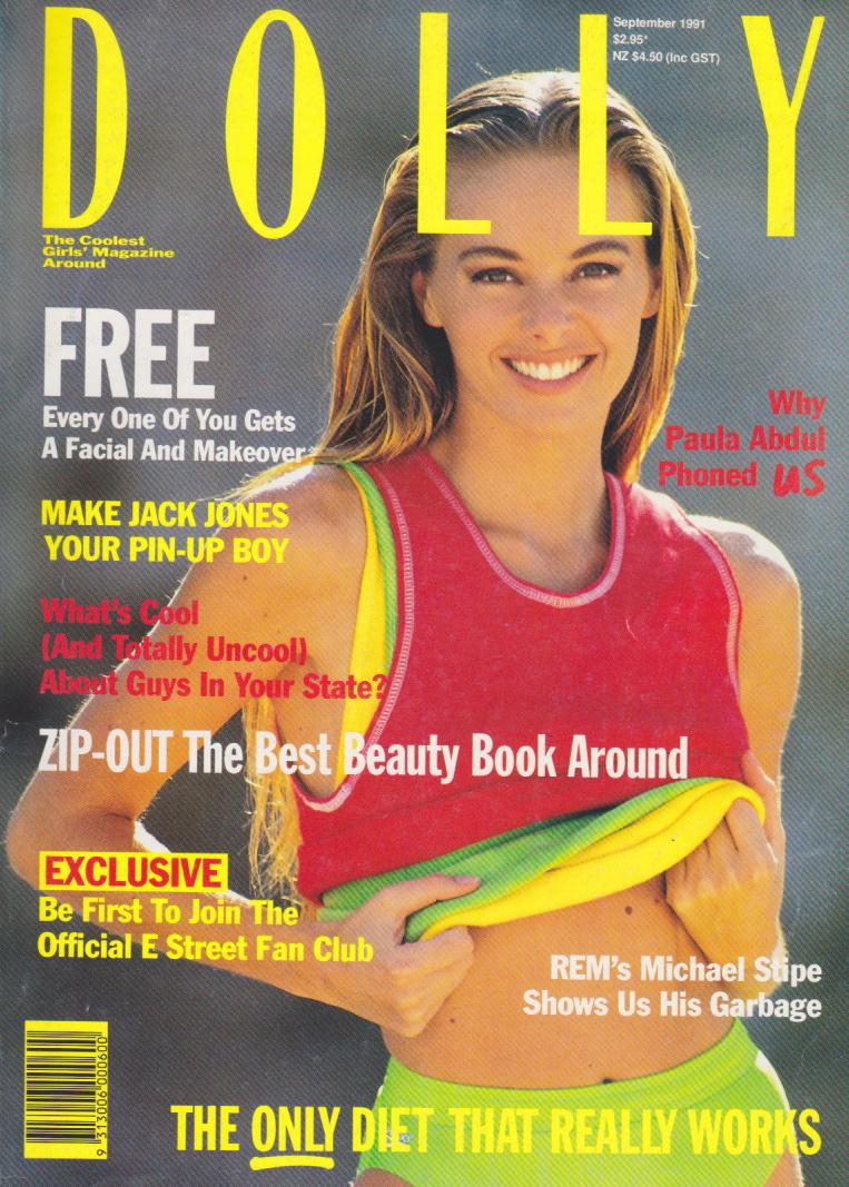 Dolly Magazine (Australia) September 1991 | Alison Brahe