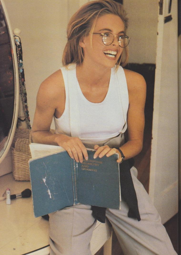 Dolly Magazine (Australia) August 1991 | Alison Brahe 03.jpeg