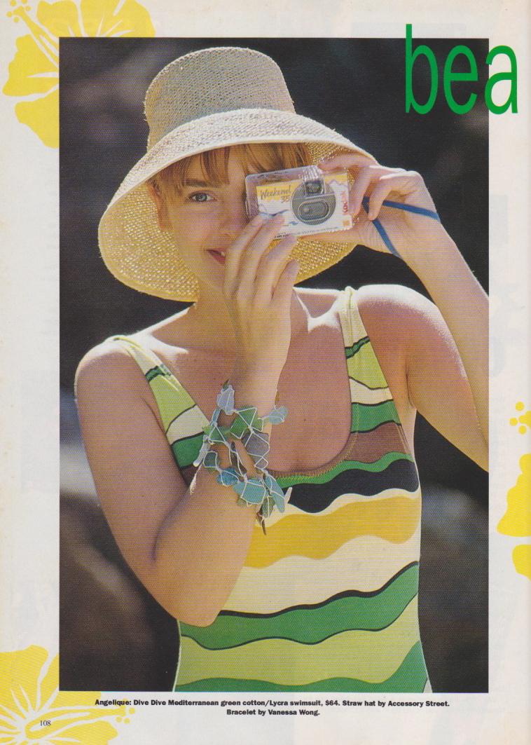 Dolly Magazine (Australia) October 1991 | Beach Babes 01.jpeg