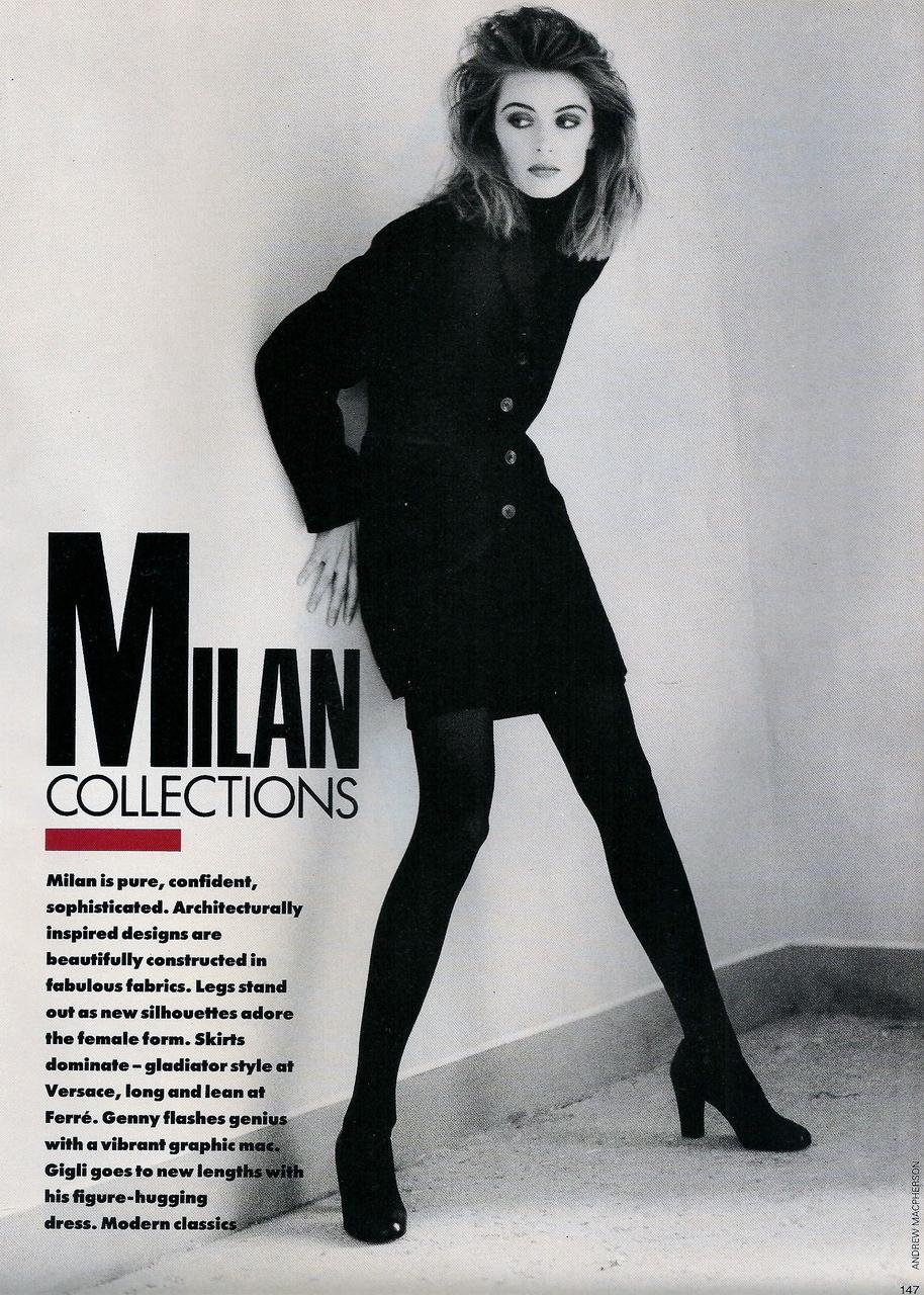 Elle (UK) October 1991 | Ludmilla 02.jpg