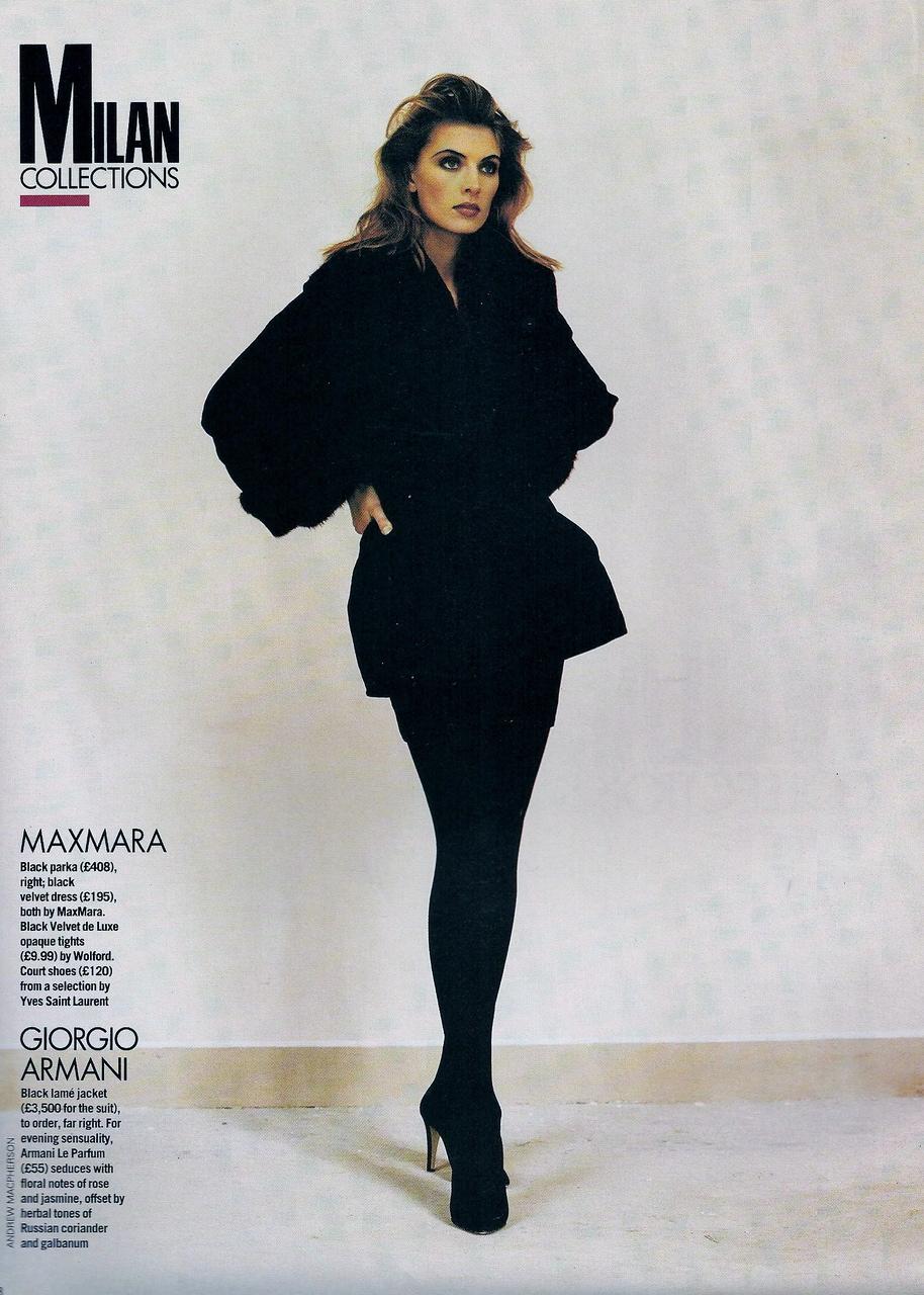 Elle (UK) October 1991 | Ludmilla 03.jpg