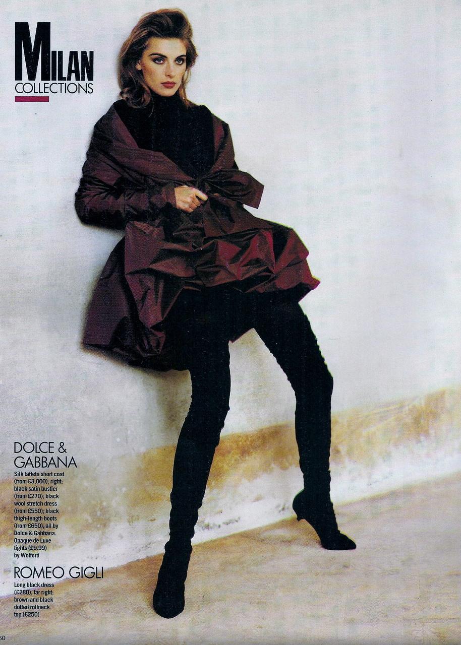 Elle (UK) October 1991 | Ludmilla 05.jpg