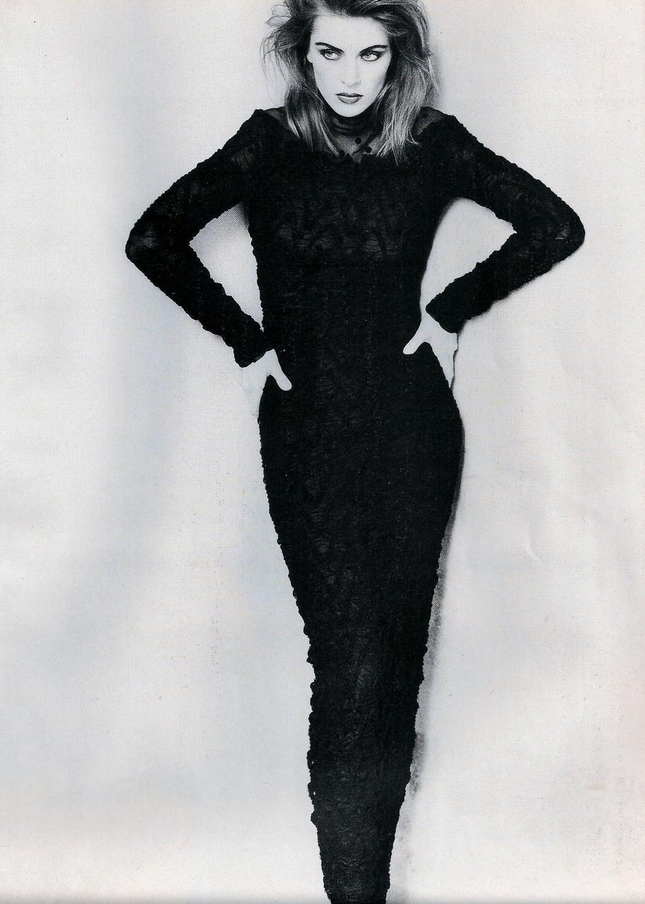 Elle (UK) October 1991 | Ludmilla 06.jpg