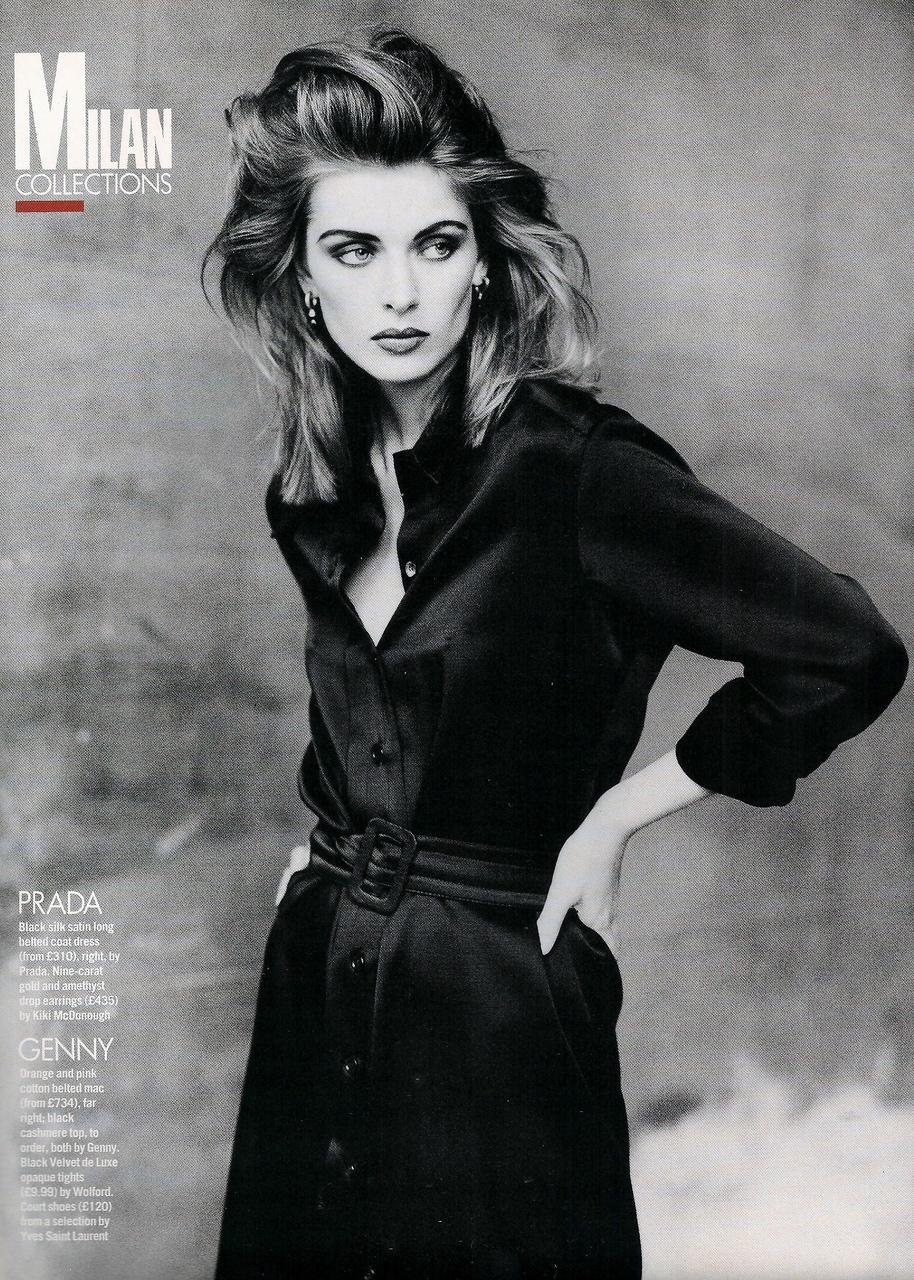 Elle (UK) October 1991 | Ludmilla 07.jpg