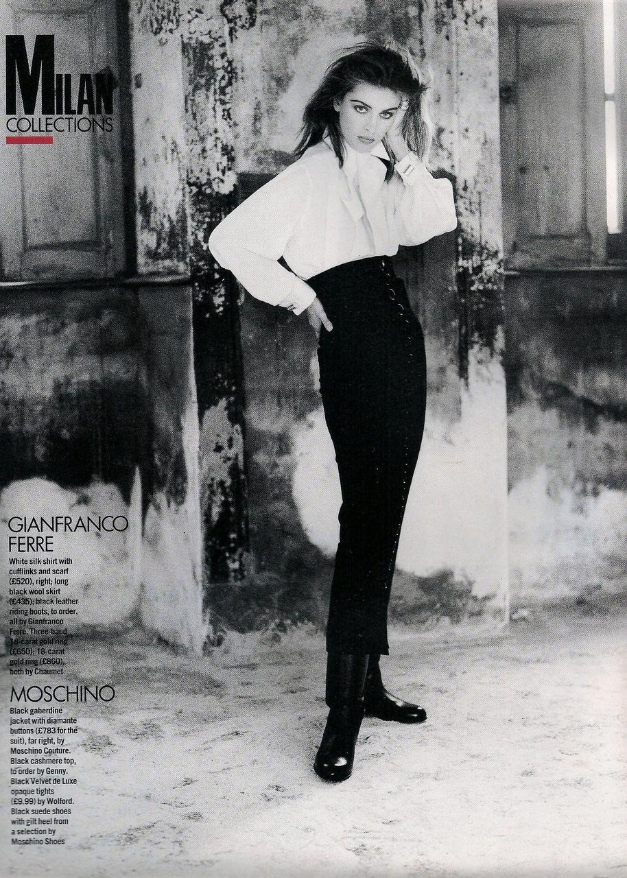 Elle (UK) October 1991 | Ludmilla 09.jpg