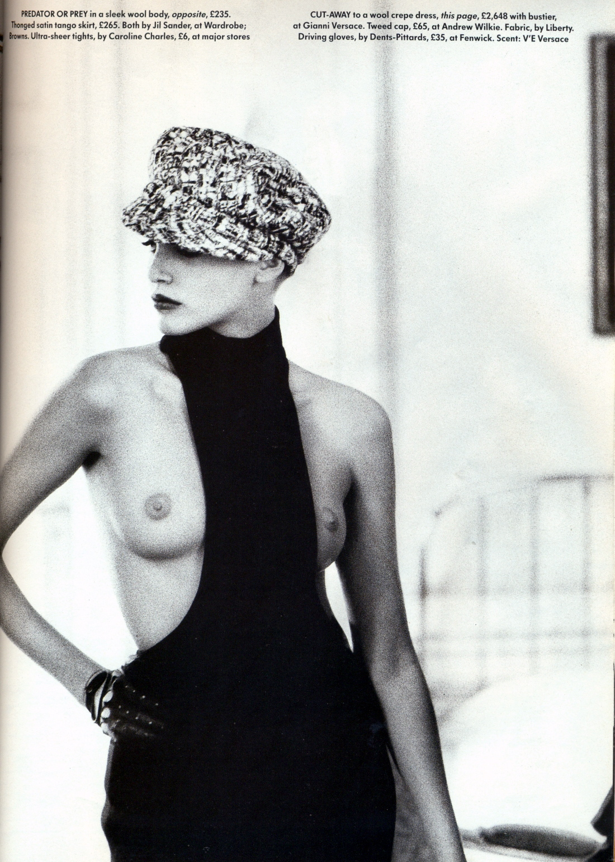 Vogue (UK) October 1991 | Nadja Auermann by Ellen Von Unwerth 04.jpg